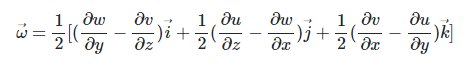 equation of angular velocity