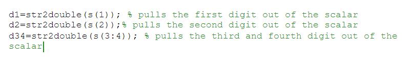 matlab code involving string inputs